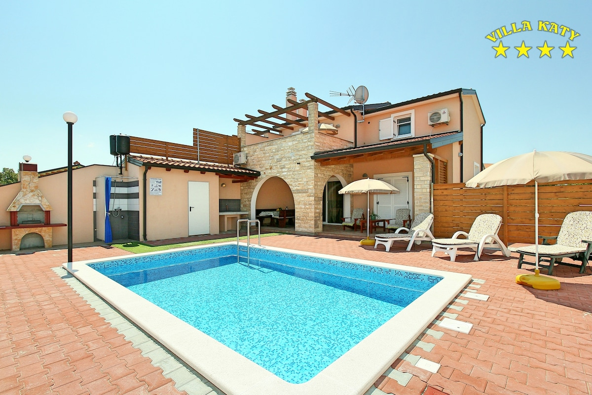 House with pool in Istria