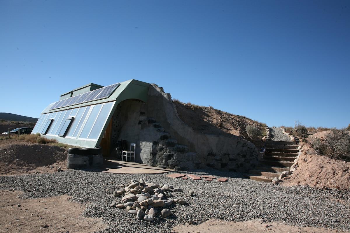 Brand New Studio Earthship