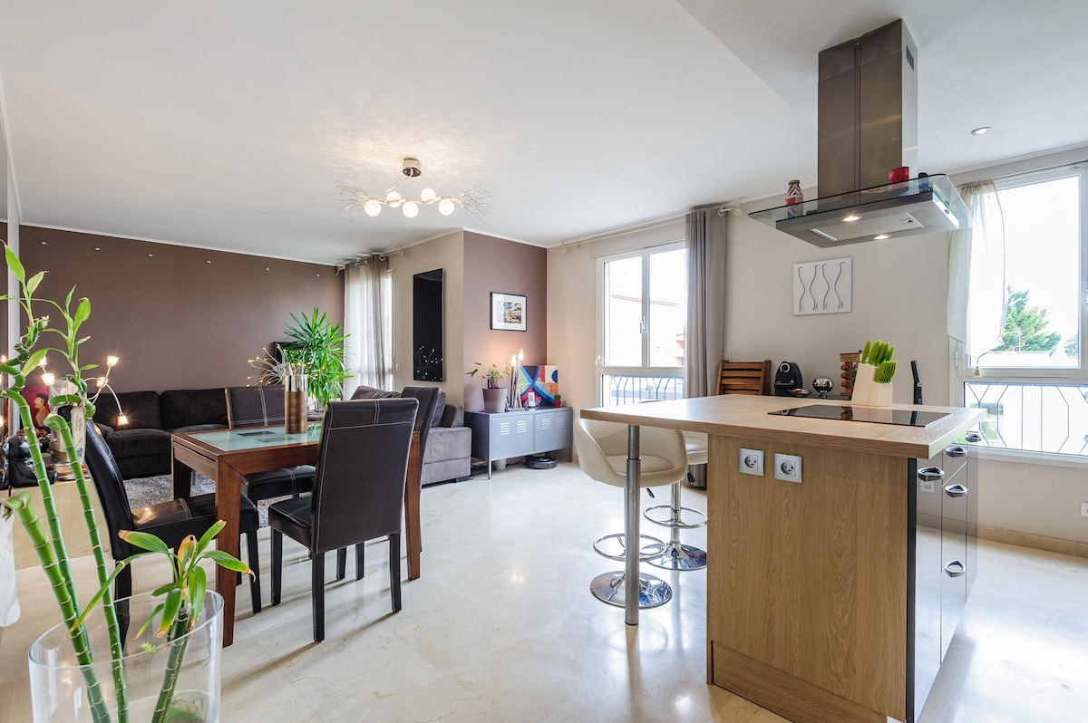 2/4 pers appartment in Croix Rousse