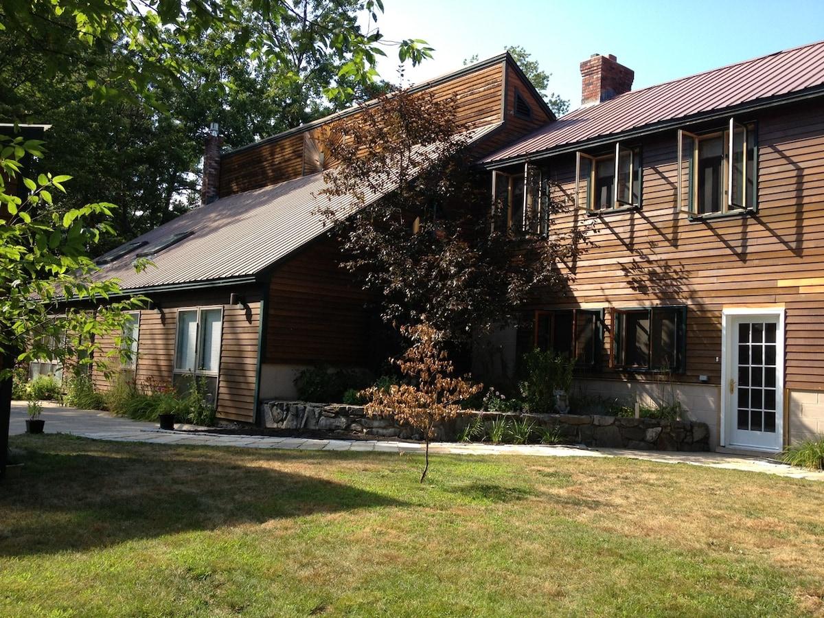 Very Large Custom Cedar Home!