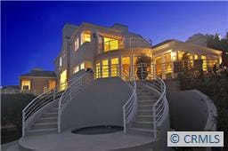 Custom Glass Home & Panoramic View