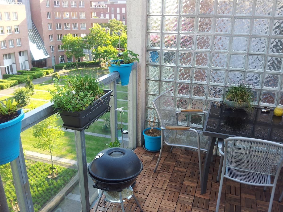 Luxury apt guest-room in Maastricht