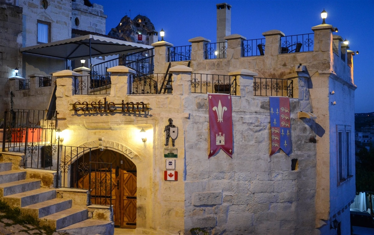 A Castle Accomodation in Cappadocia