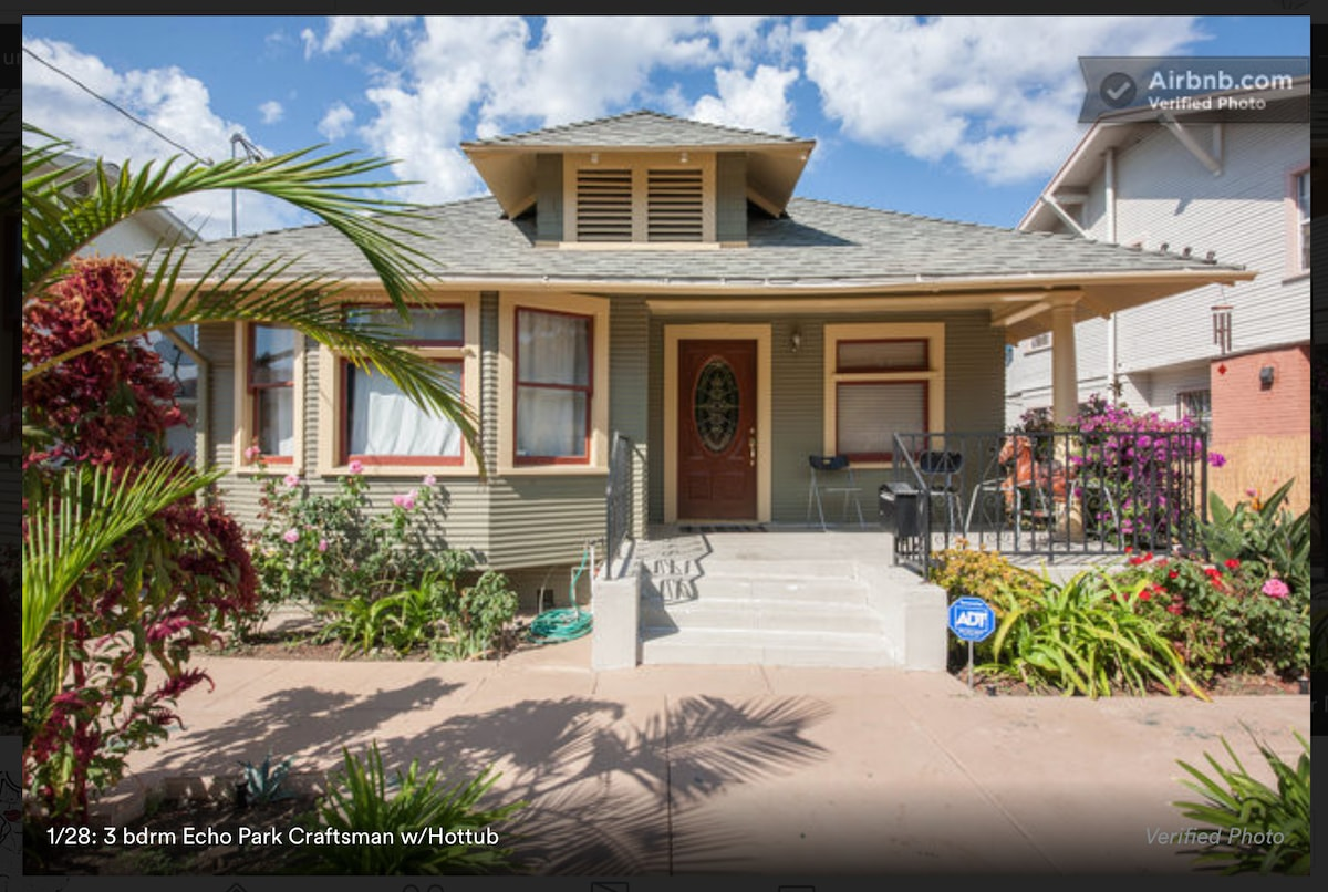 Gorgeous 1904 Craftsman in the heart of Echo Park