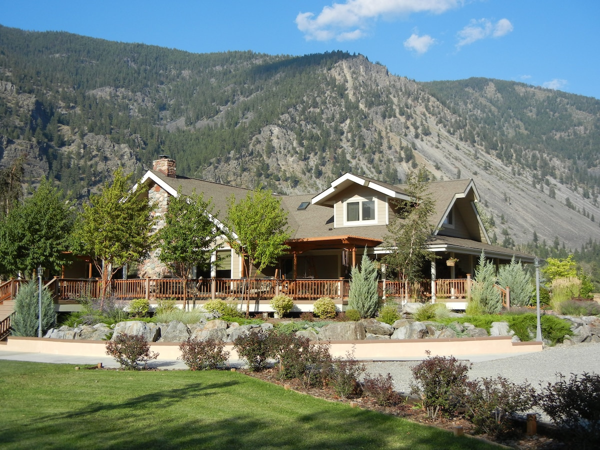 Rocky Point Ranch,  B&B, Montana