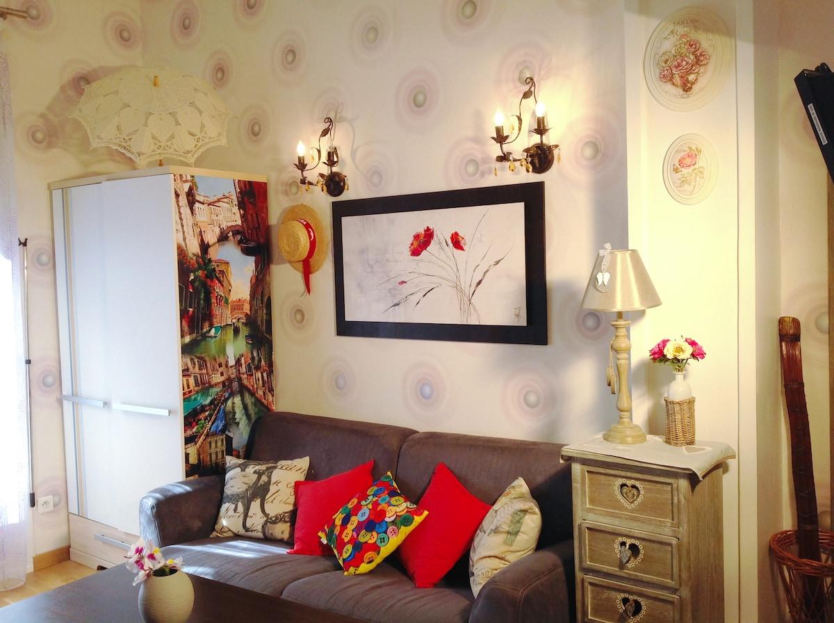Charming studio in of NICE