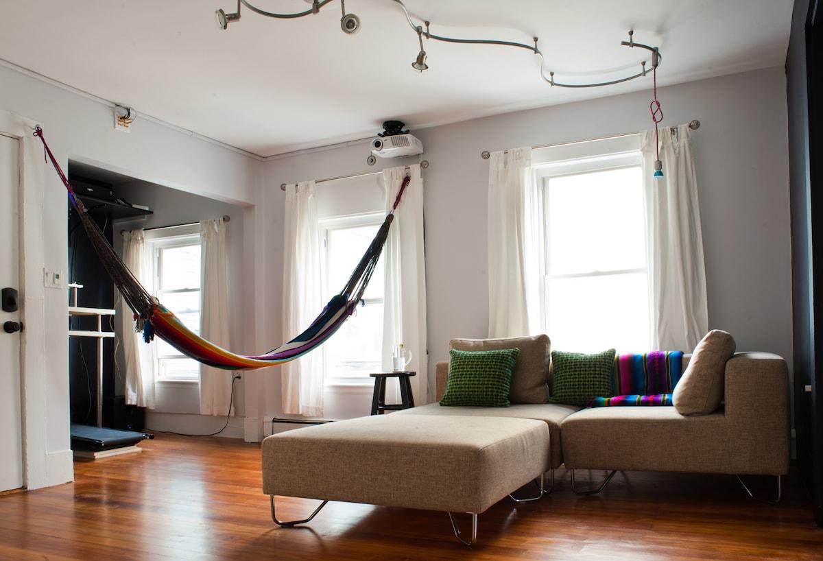 Cozy Winter Place (Inman Sq / MIT)