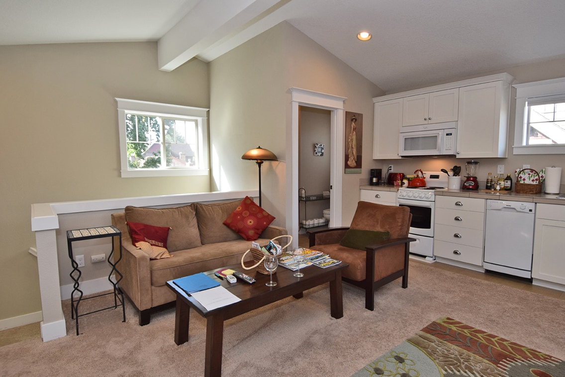 Love seat, Comfortable Chair and Coffee Table