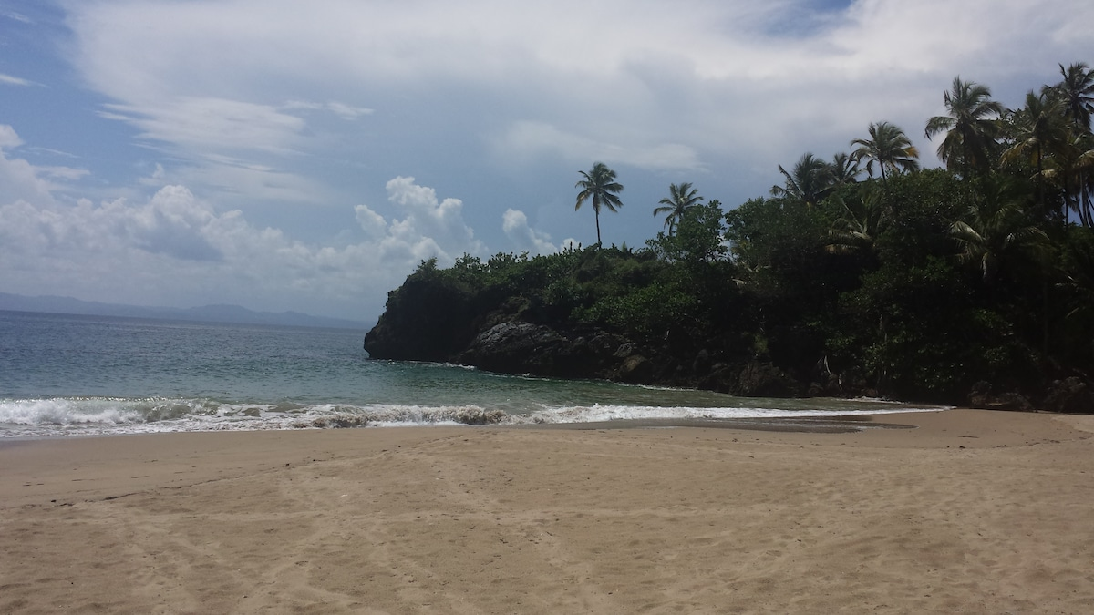 Let me show you the beach 5 minutes walk from home.