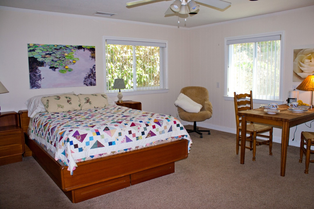 Spacious, comfortable Ojai suite