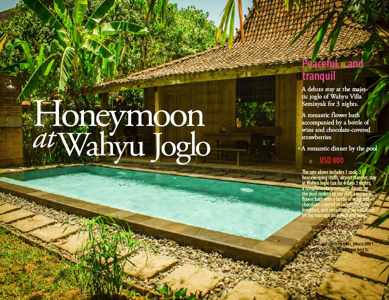 Wahyu Joglo is an antique Javanese wooden structure that has aged for hundreds of years.