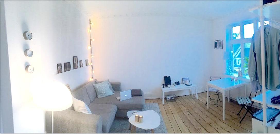 Cozy flat on lovely Frederiksberg