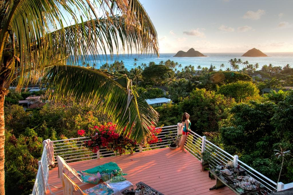 Best Ocean View Lanikai Loft