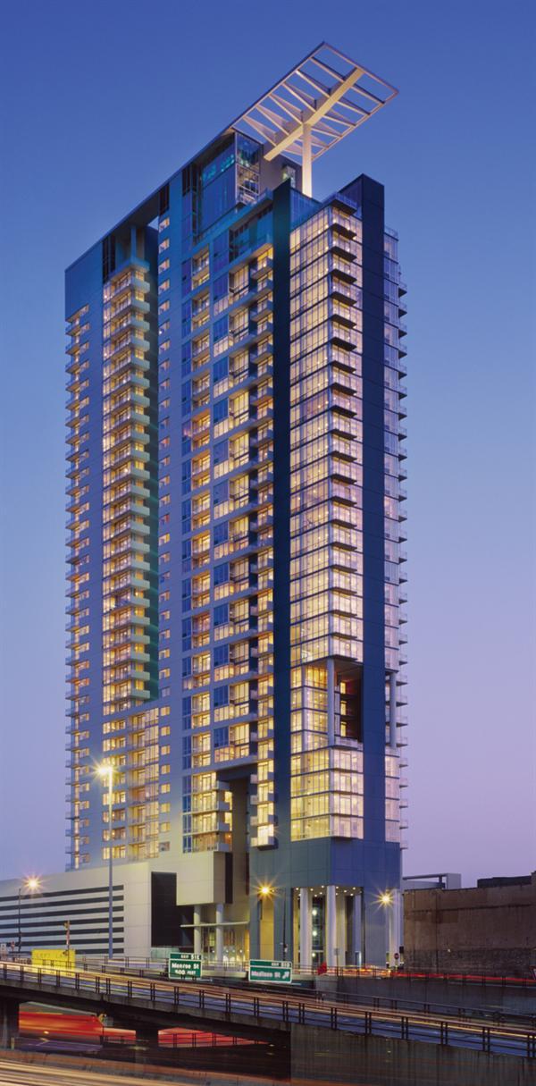 Skybridge luxury condominiums