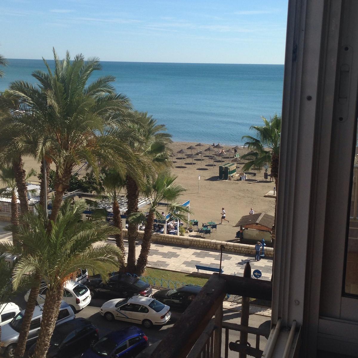 Apartamento en 1a línea de playa