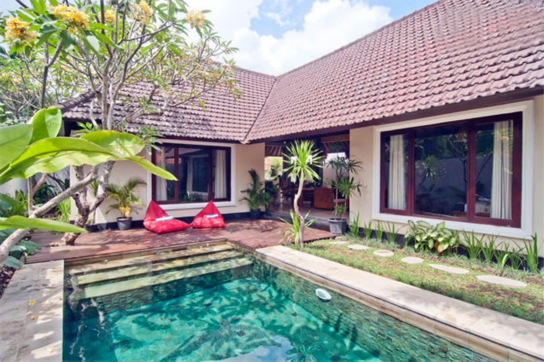 Homey 2 bedrooms villa in Seminyak