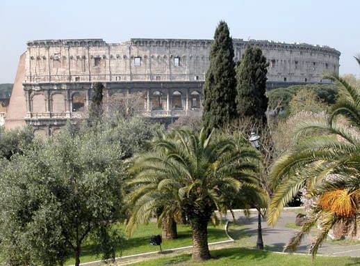 Another Colosseum's photo taken from the Colle Oppio (Domus Aurea) near the apartment!