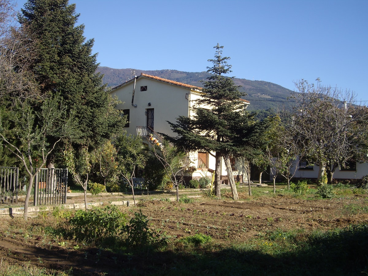 House in Montseny Nature Reserve