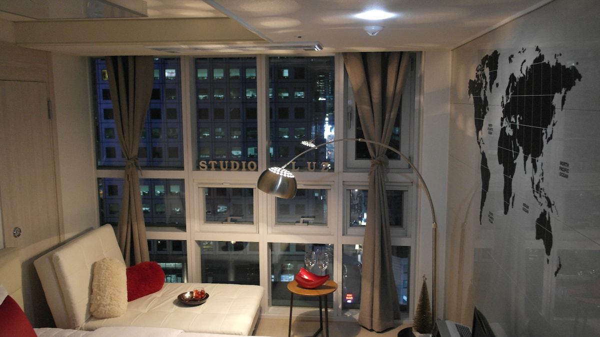 A newly opened studio Myeongdong