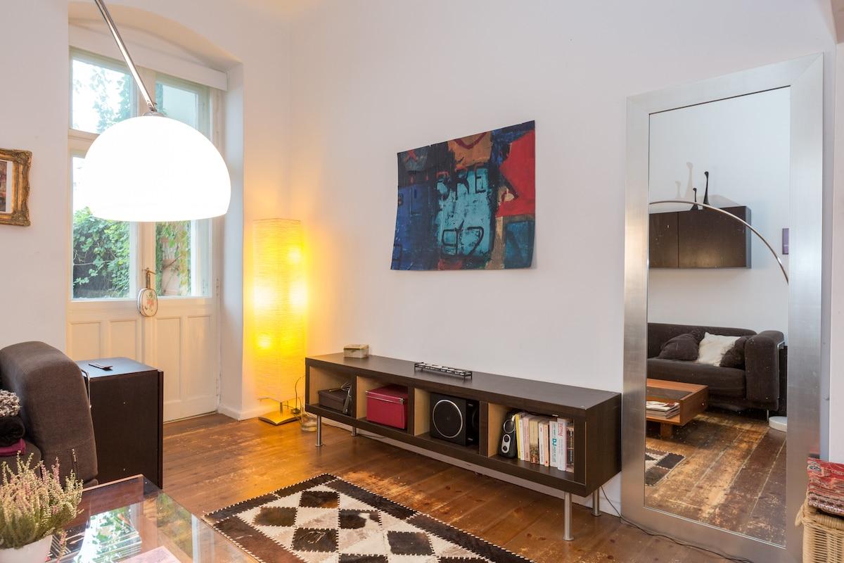 Comfortable room with home cinema