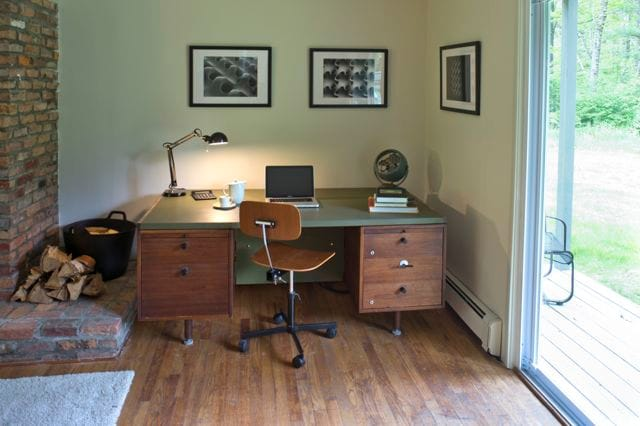 Several noted novels and a few screenplays were written at this desk!