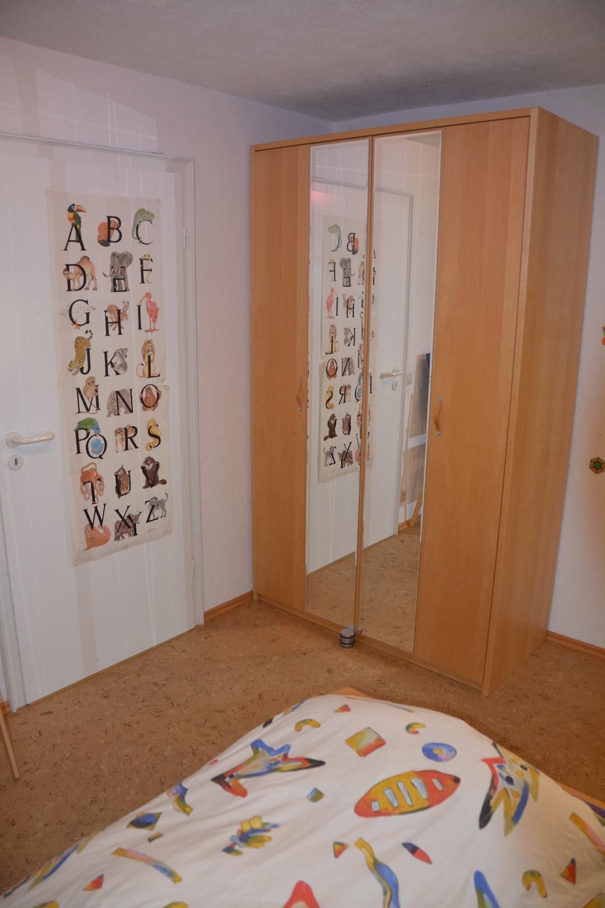 3 Zimmer Wohnung mit Bad