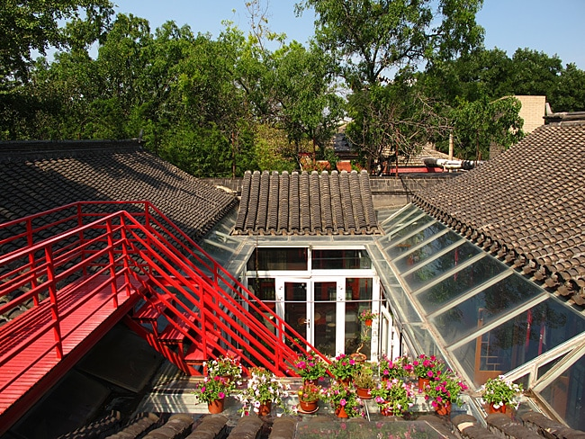 Downtown Hutong Courtyard house