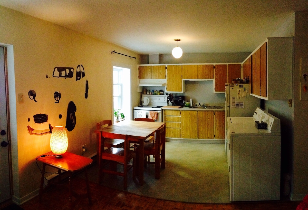 1 private BR well located to rent