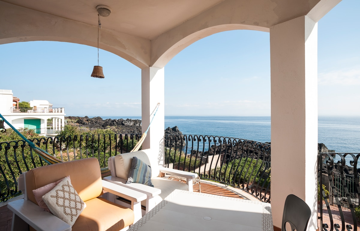 Seaside apt in Stazzo (Acireale)