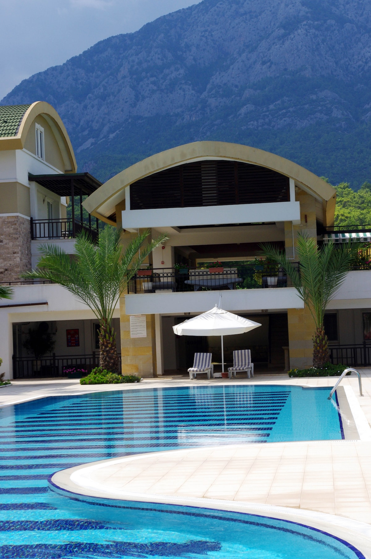 Flat in Kemer 100 m from the beach