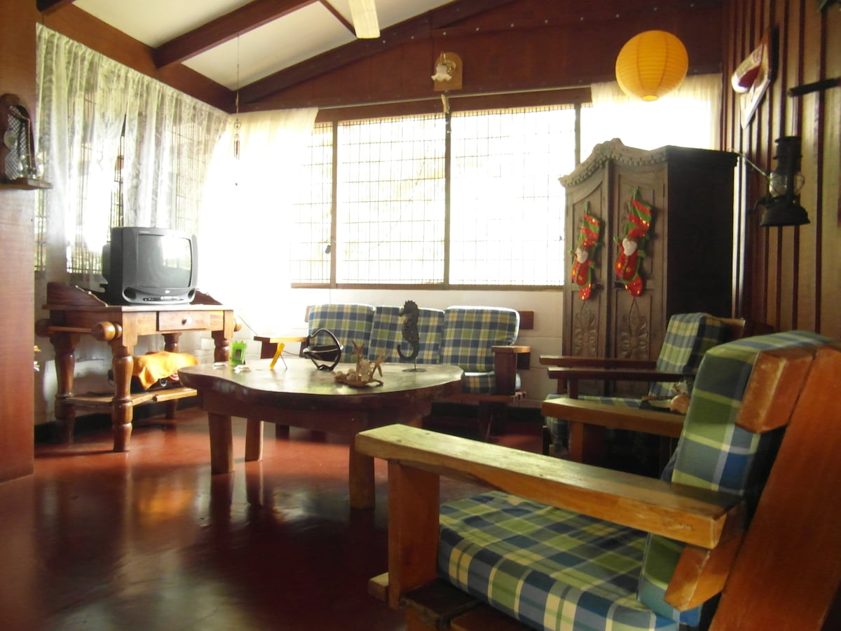 Room in typical Costa Rican house