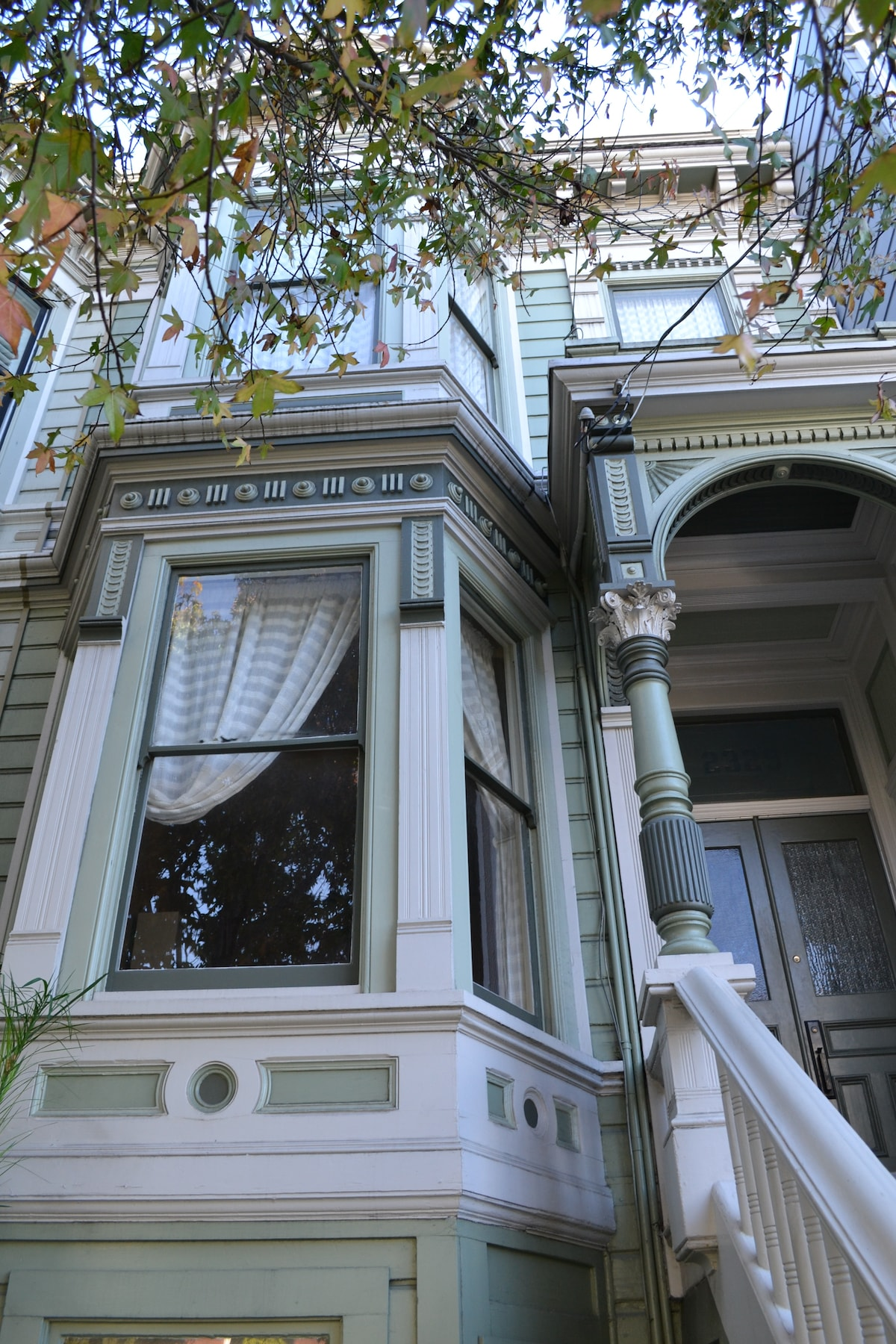 Colorful Victorian in the Fillmore
