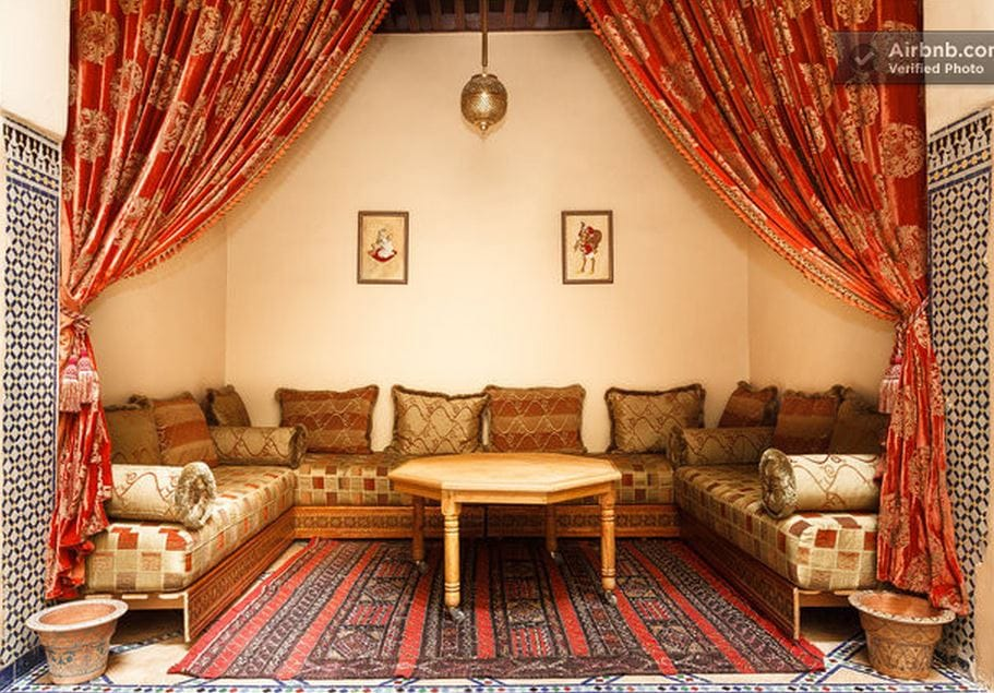 Splendid room for rent in a riad