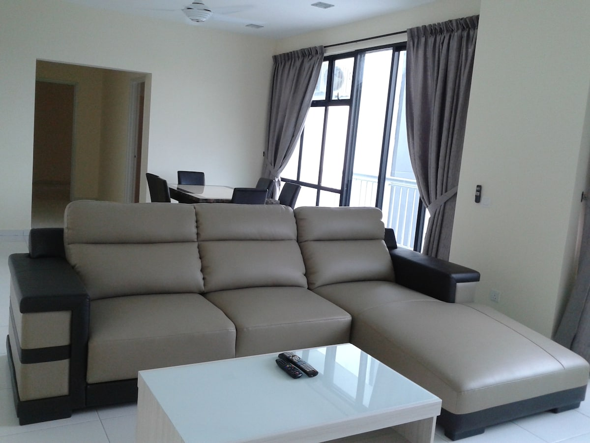 3 Bedrooms with full facilities