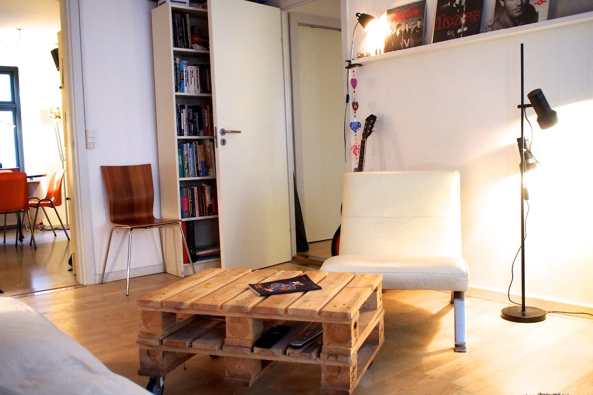 nice place in cosy & hip Vesterbro