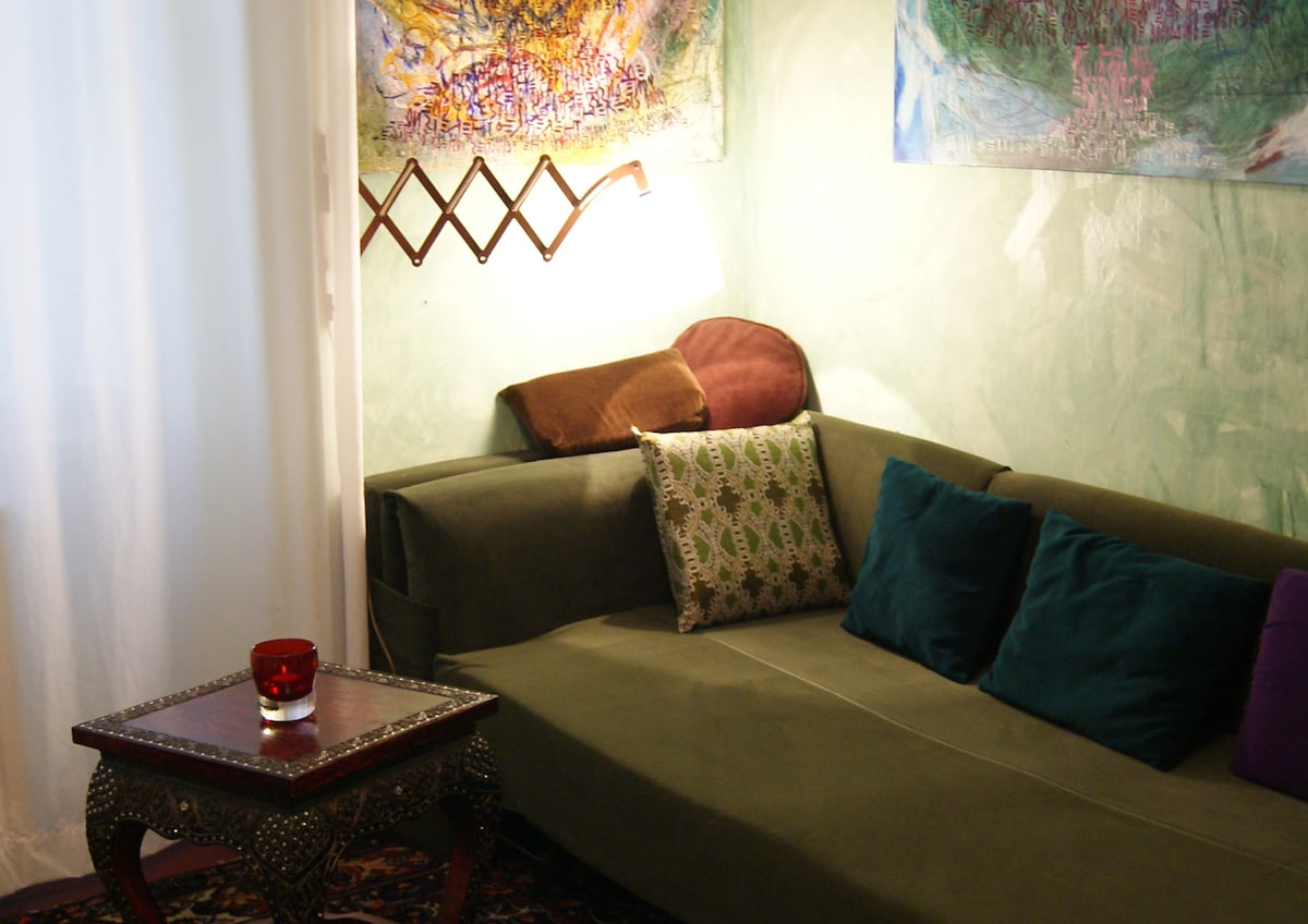 colorful cosy flat/bunte Wohnung