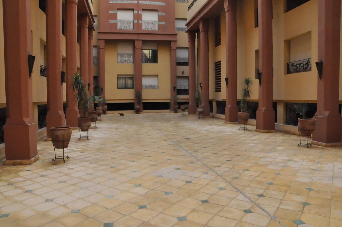 Plein centre de Marrakech