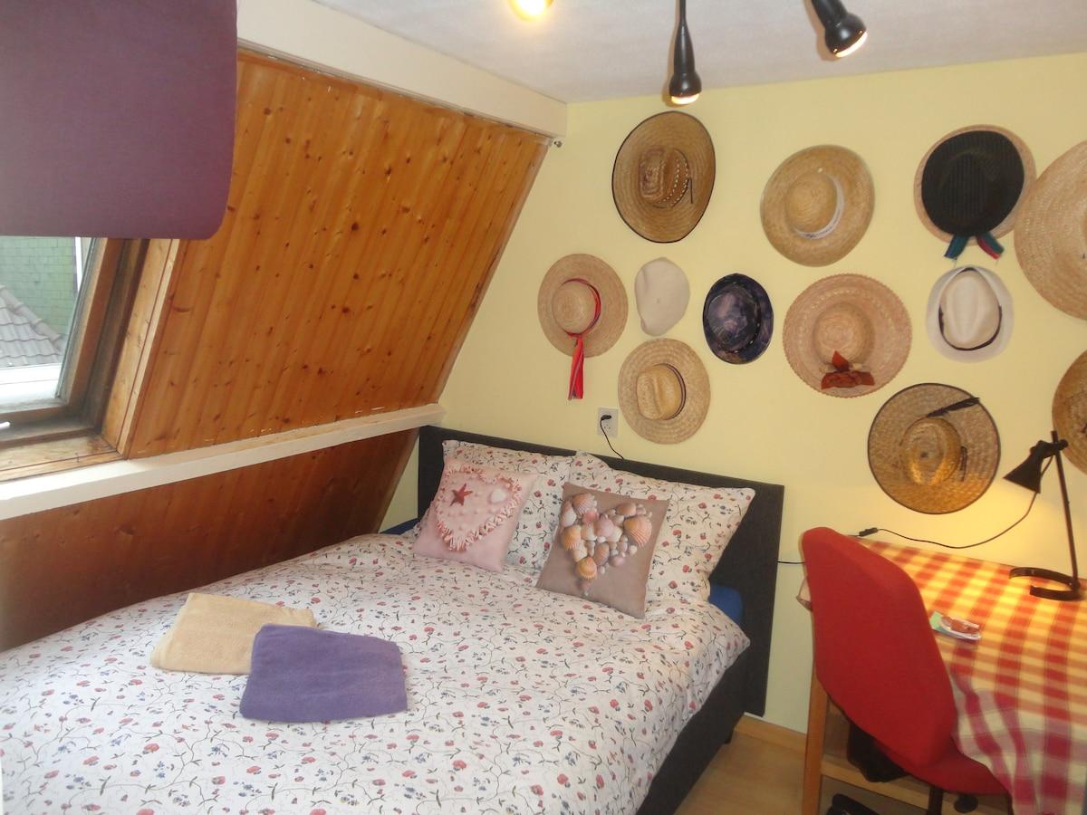 Cozy double room in center Alkmaar