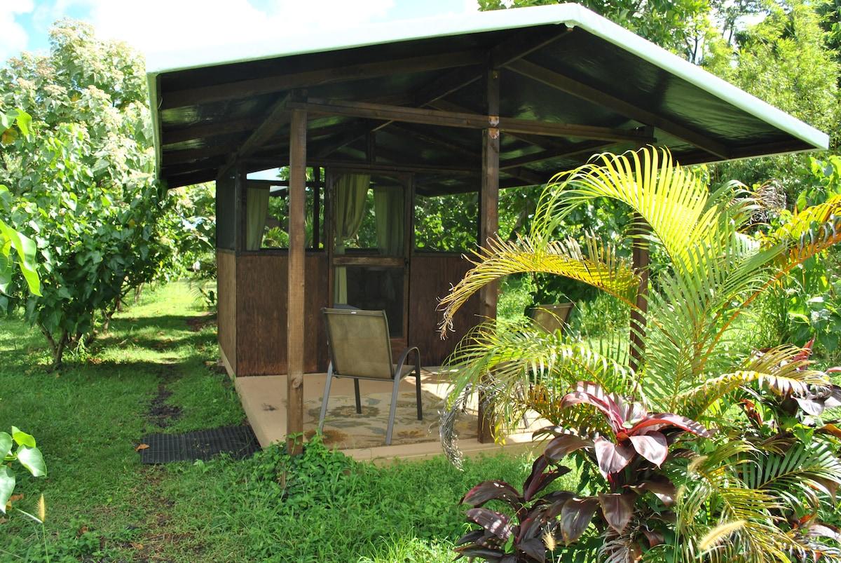 Deck at Milo Mino Cabin