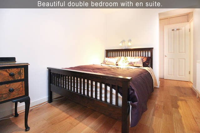 Beautiful double bedroom with en suite.