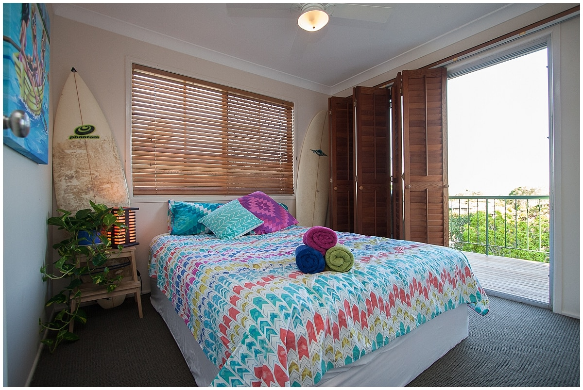 Comfortable Bed + Private Balcony