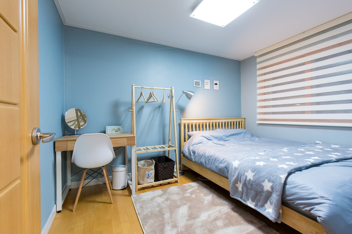★Near Hongdae★ 1Qbed+Breakfast