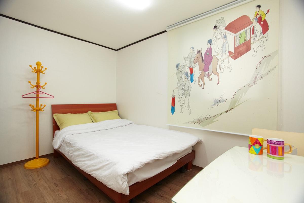CozyPlace in Itaewon @ 203 / Room 1