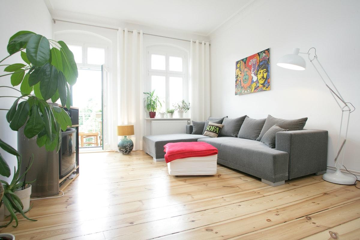 Wohnzimmer/Livingroom with W-Lan/WiFi