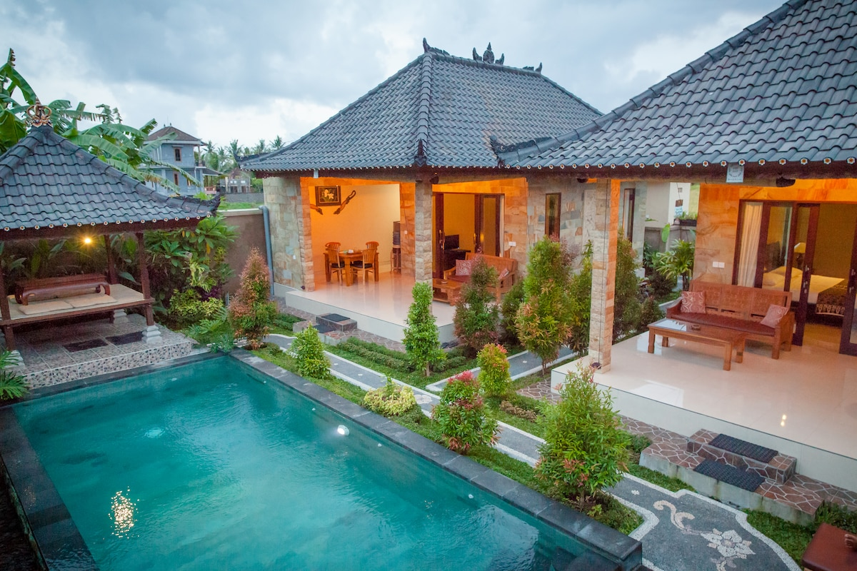 Retreat to Twin Villa in Ubud