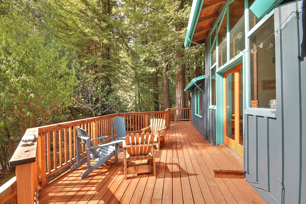Creekside~most relaxing cabin ever!