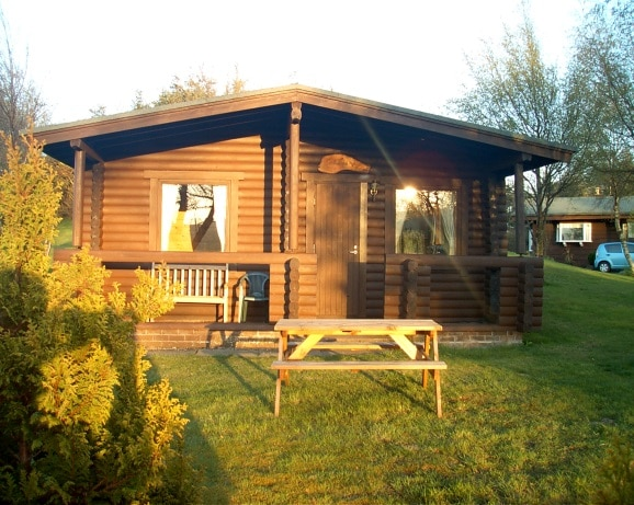 Traditional One Bedroom Log Cabin In Northumberland Uk