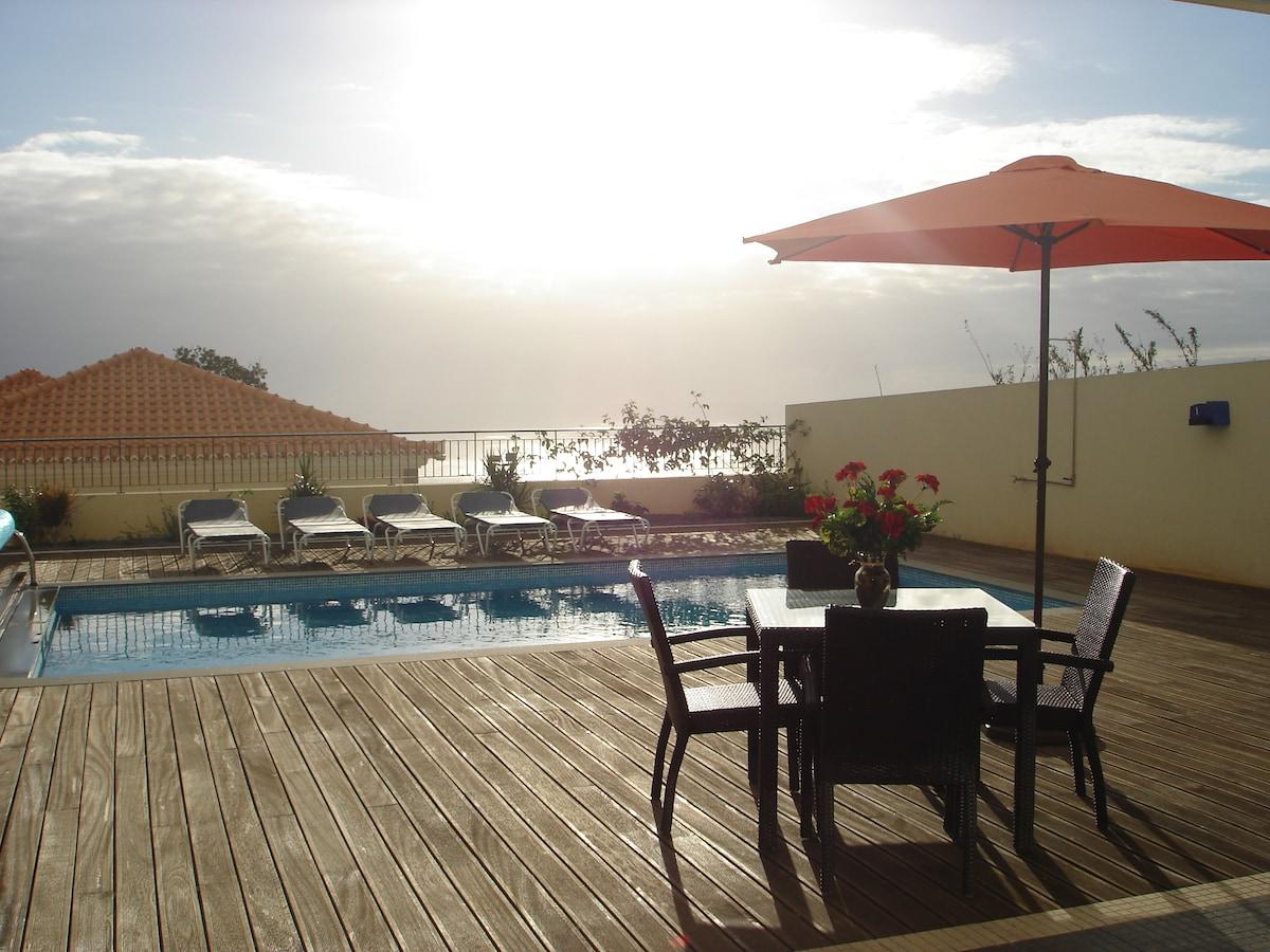 Paradise Villa With Sea view