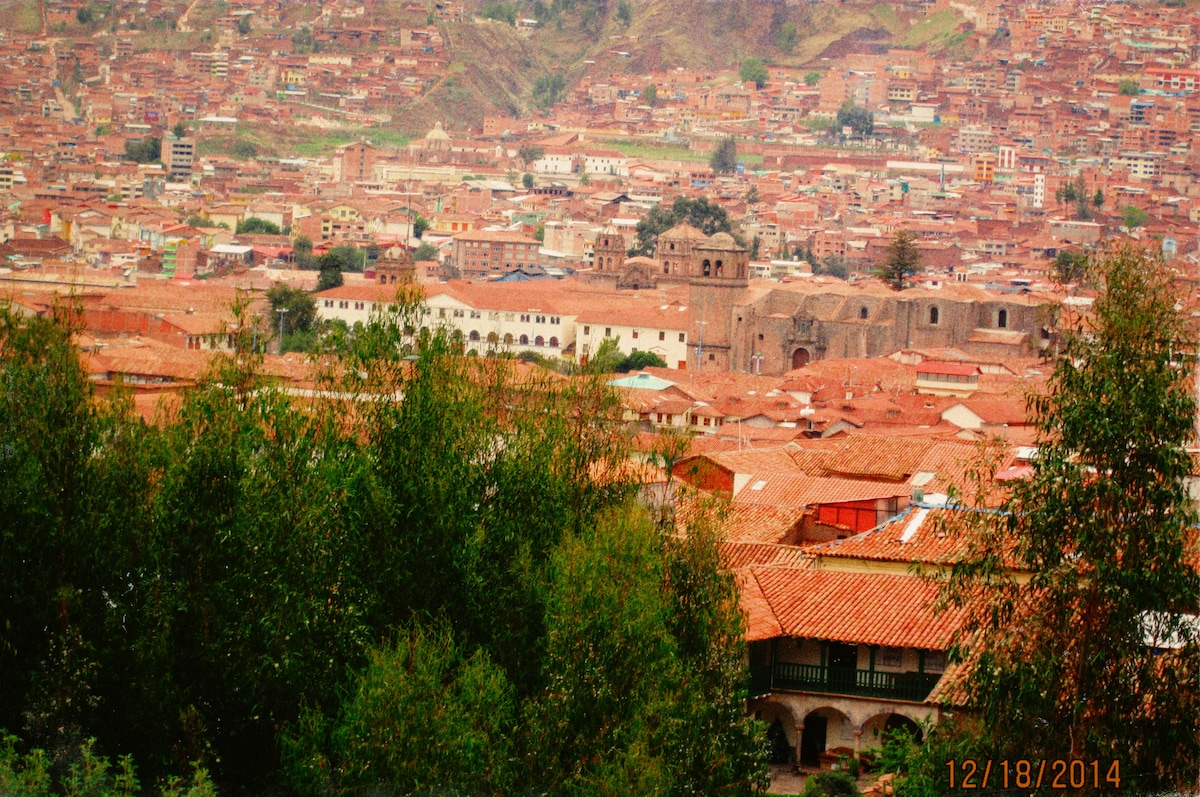 A Spectacular View over Cusco!