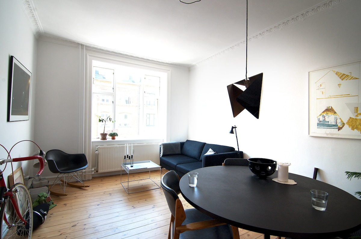 Designer apartment in Copenhagen